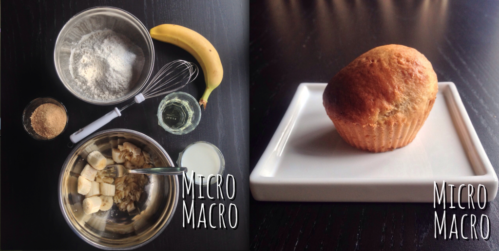 muffins banana_micro_macro_food_ricetta_top