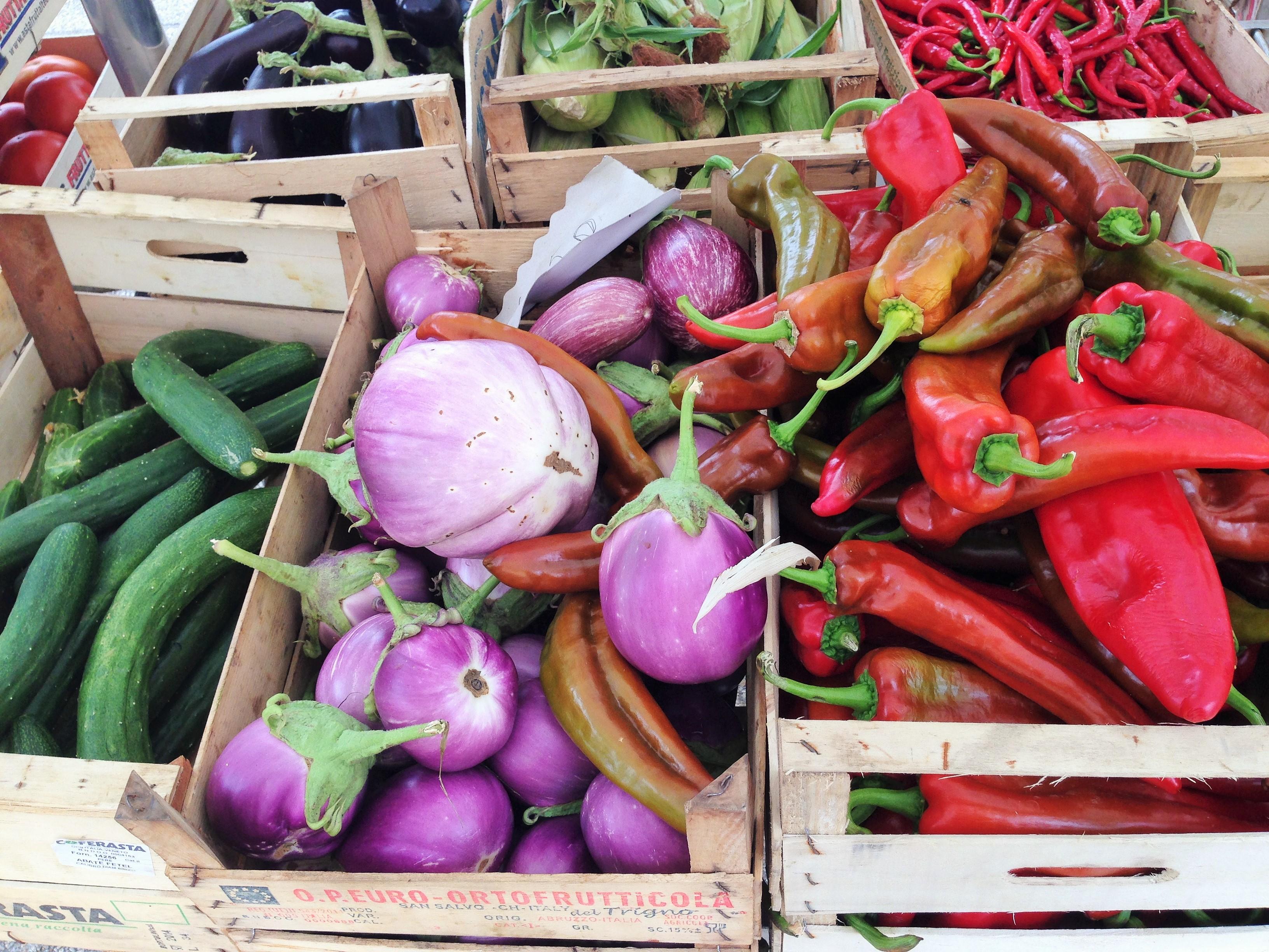 Il mercato della frutta e verduraflymamy for Mercato frutta e verdura milano